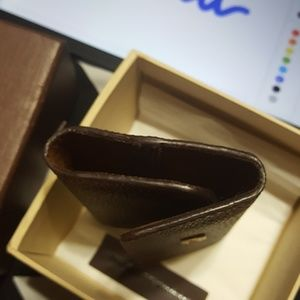 Louis Vuitton Bags - Authentic LV Cuff Link holder Damier Ebene